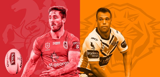 Dragons v Wests Tigers: NRL.com Round 1 preview