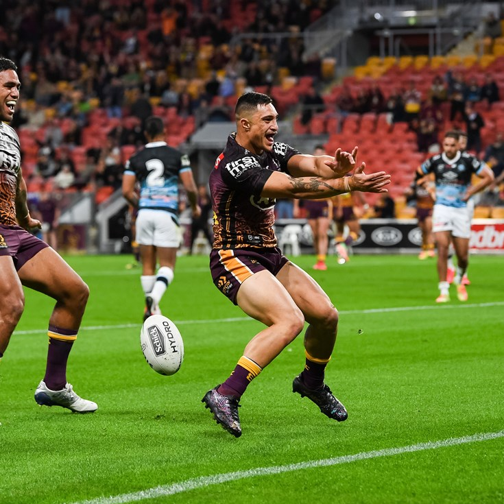 'Nowhere else but here': Kotoni keen to re-sign with Broncos