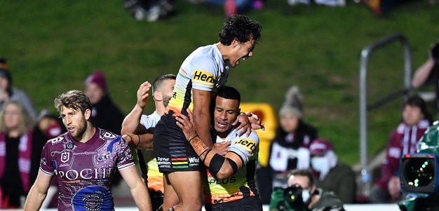 Cleary all class as Panthers run Sea Eagles ragged