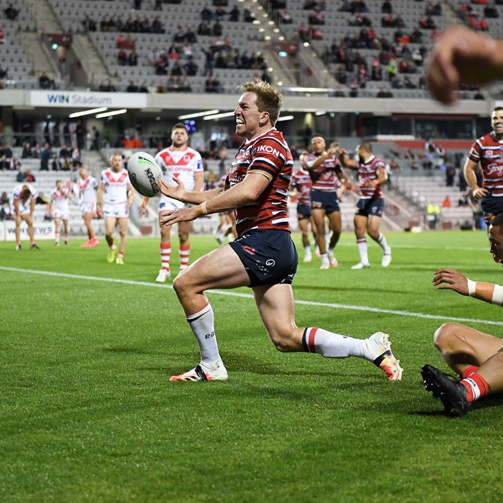 Keary dismantles Dragons to make Aubo's 300th a night to remember