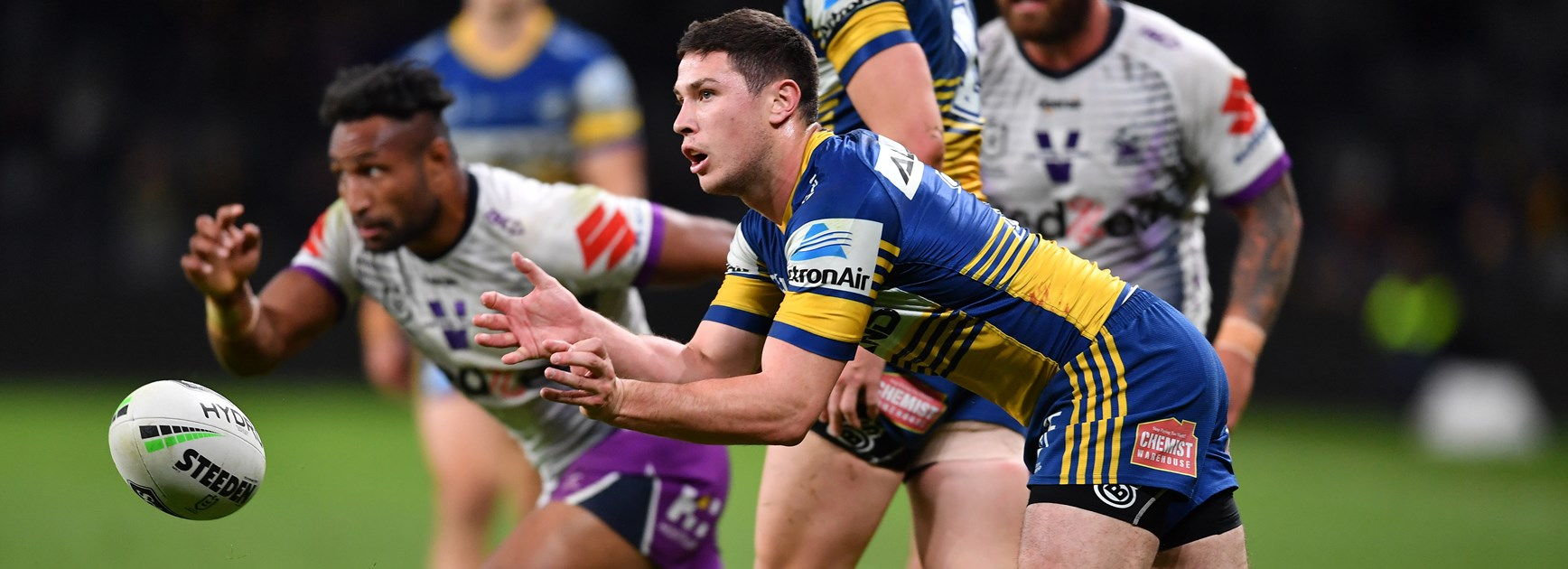 Eels halfback Mitch Moses.