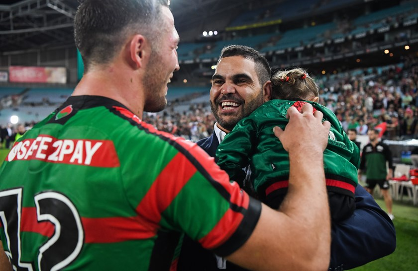 Rabbitohs royalty Sam Burgess and Greg Inglis.