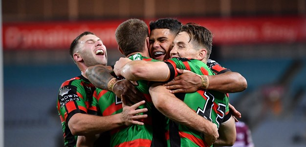 Rabbitohs rack up half century on Manly