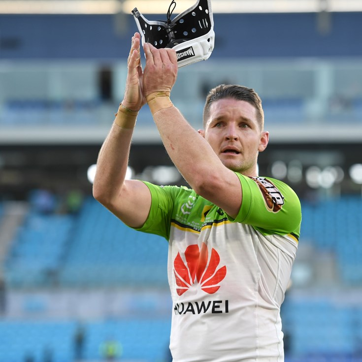 'It's not hard to be nice': Croker nominated for Ken Stephen Medal