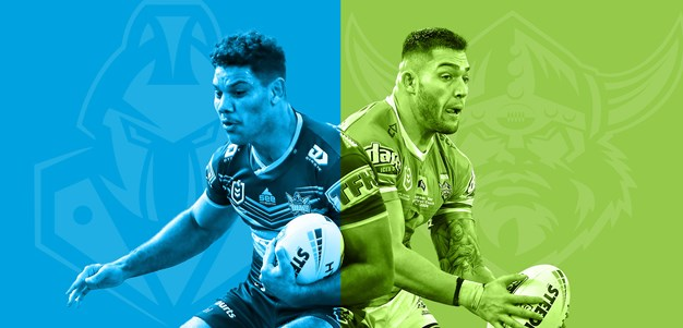 Titans v Raiders: Double pack blow looms; Canberra count blessings
