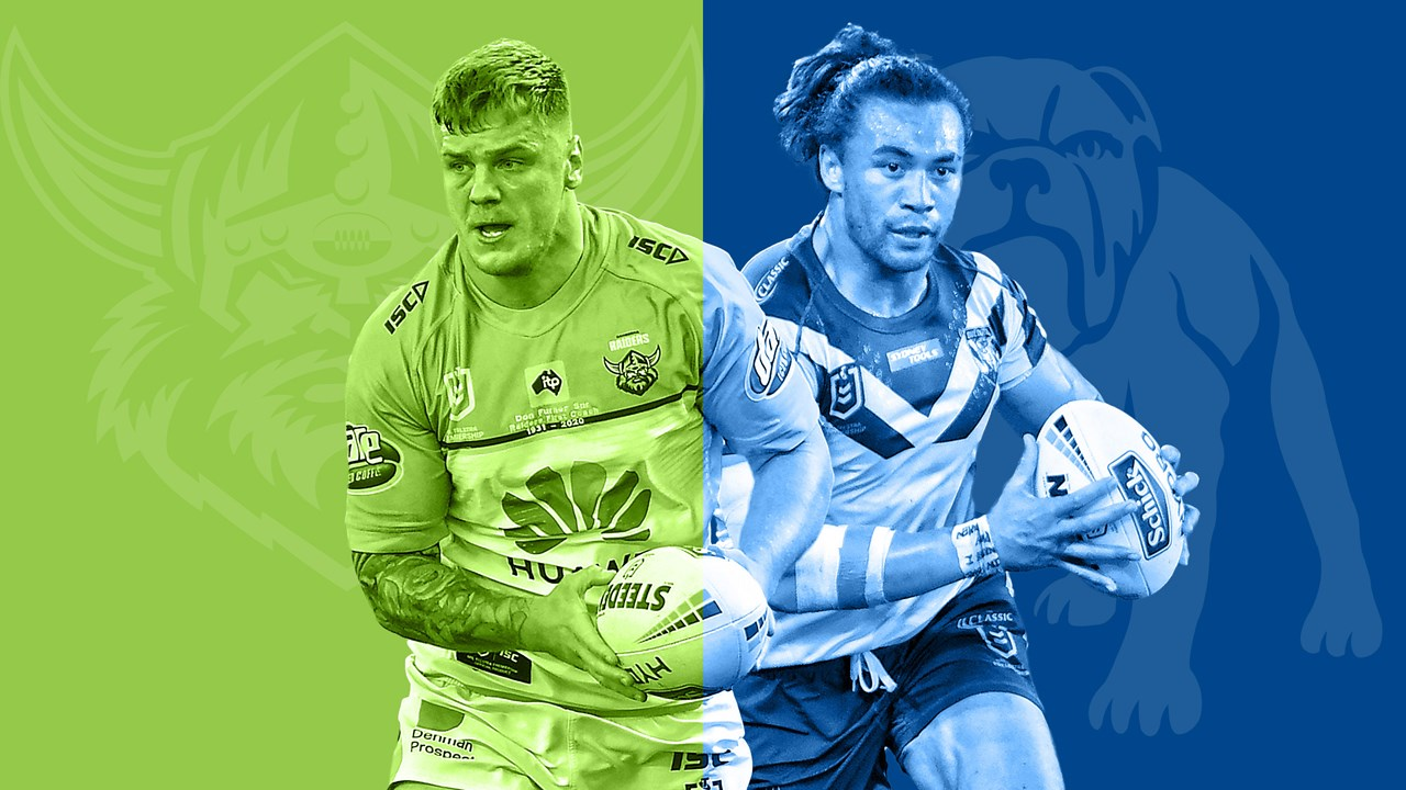Nrl 2020 Canberra Raiders V Canterbury Bulldogs Round 16 Match Preview Nrl