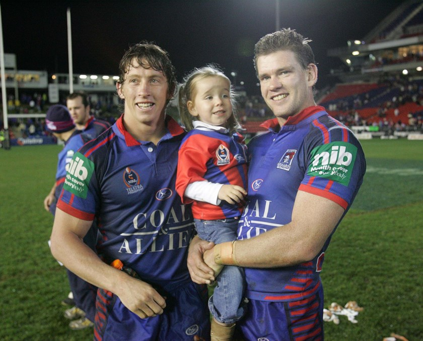 Knights royalty Kurt and Matt Gidley.