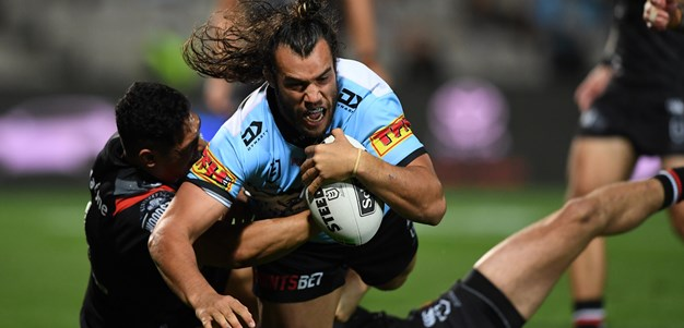 Rudolf relishes 'absolute rush' of first NRL try