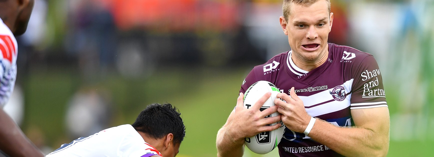 Manly fullback Tom Trbojevic.