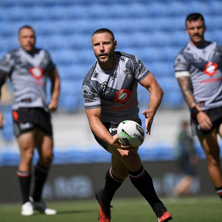 Vodafone Warriors ready to move