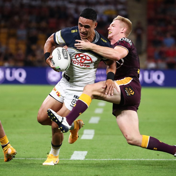 Round 20 charges: Holmes out of Origin; Thompson referred to judiciary
