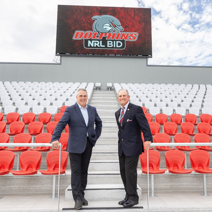 Dolphins bid 'NRL-ready' with new stadium complete