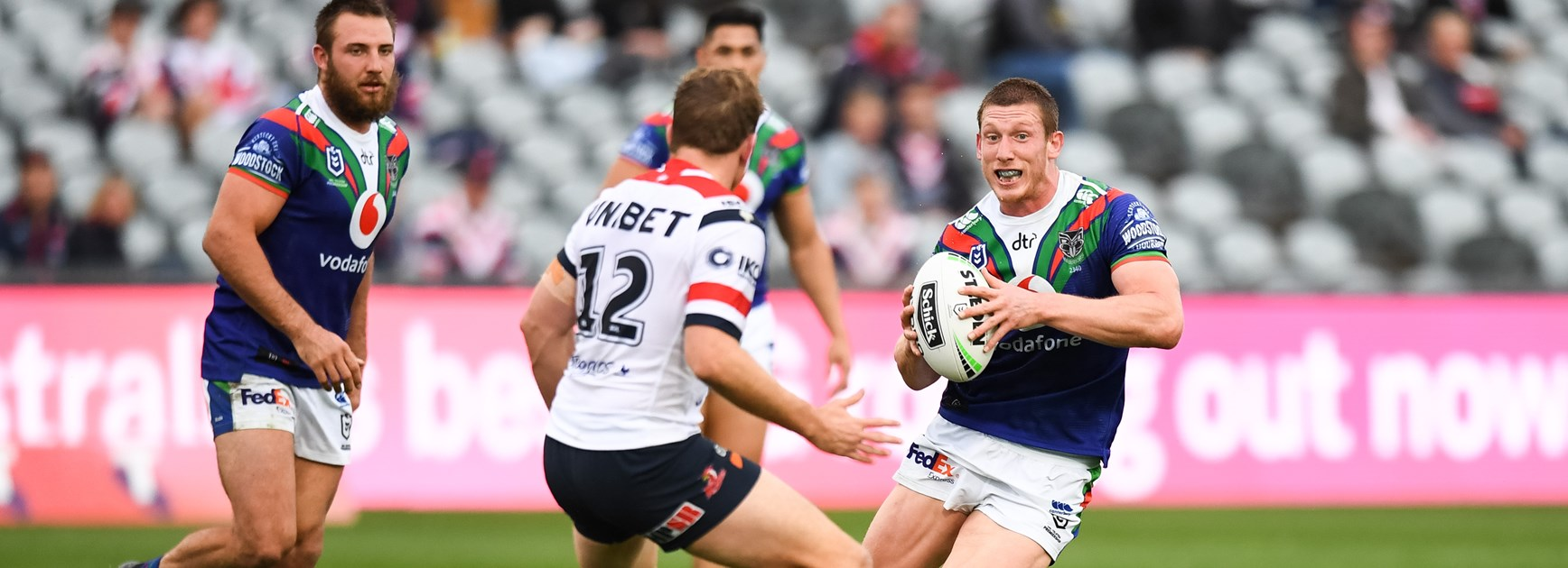 Penrith forward Jack Hetherington was loaned out to the Warriors in 2020.