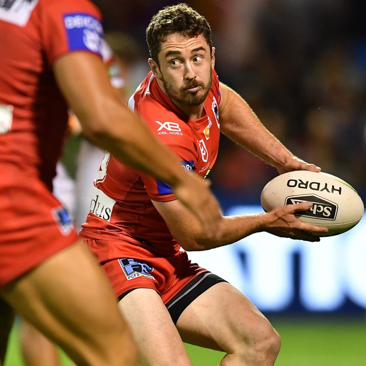 Clune will shrug off broken nose to make Dragons debut