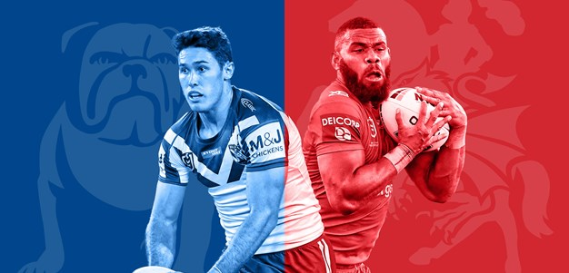 Bulldogs v Dragons: Foran named; Mary swings axe