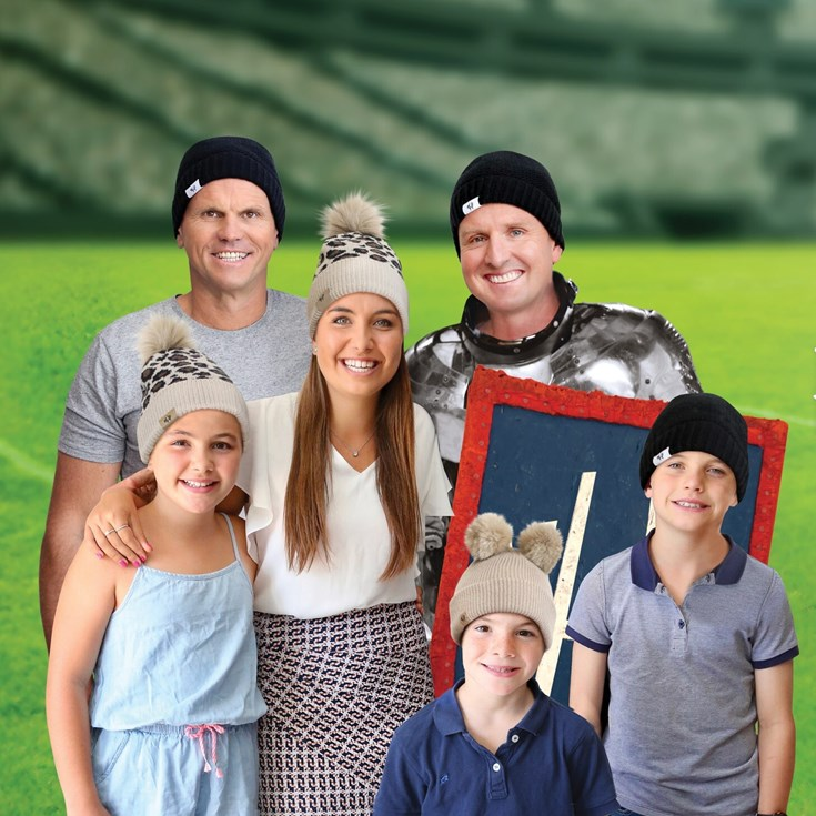Hughes 'grateful' for Beanie for Brain Cancer Round