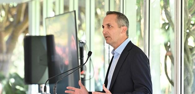 Abdo announces restructure to ensure NRL's long-term future