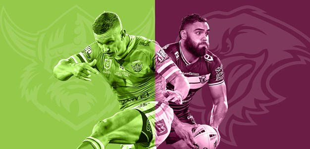 Raiders v Sea Eagles: Young available; key Manly duo in doubt