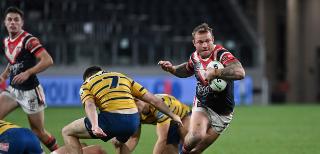 Robbo lauds wounded Roosters' courage under fire