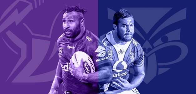 Storm v Warriors: Hughes a chance; Payten makes changes
