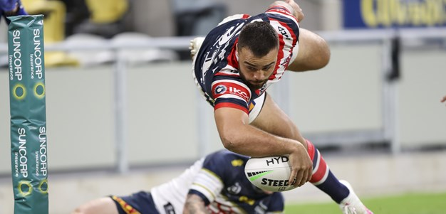 Ikuvalu scores five as Roosters rout Cowboys