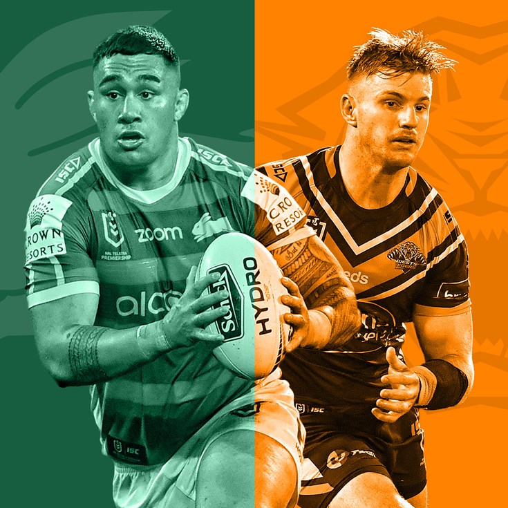 Rabbitohs v Tigers: Burns blow for Bunnies; Leilua suspended