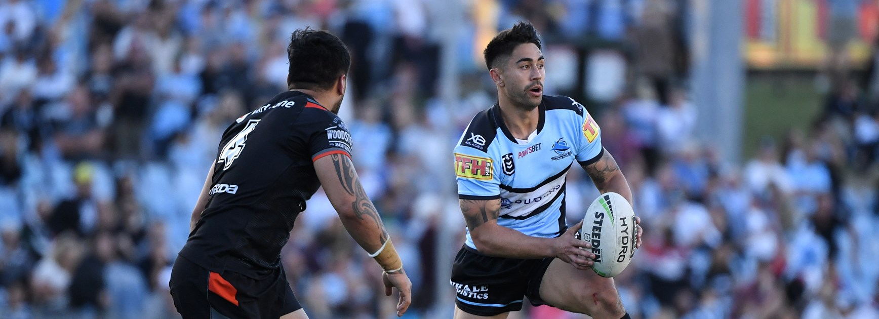 Sharks playmaker Shaun Johnson.