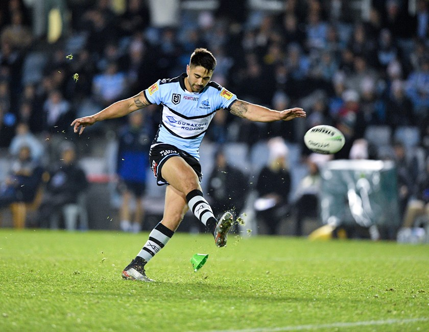 Sharks star Shaun Johnson.
