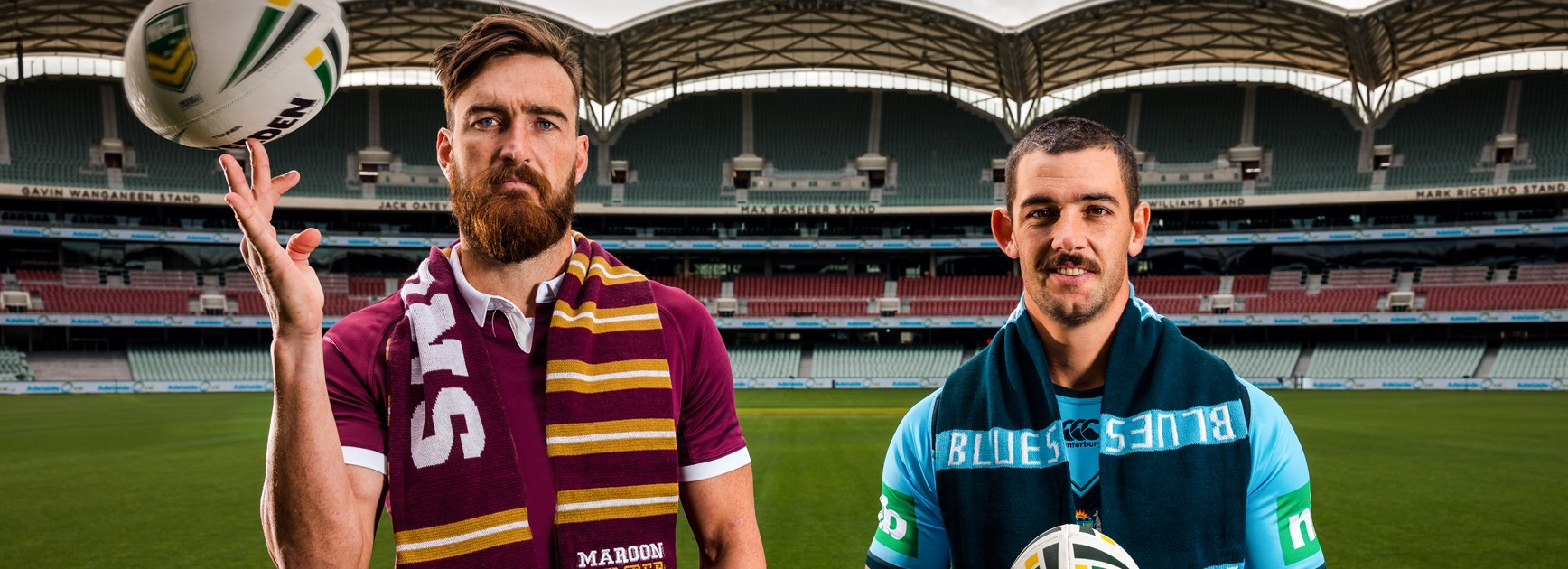Adelaide Oval to provide 'pumping' Origin atmosphere, say AFL stars