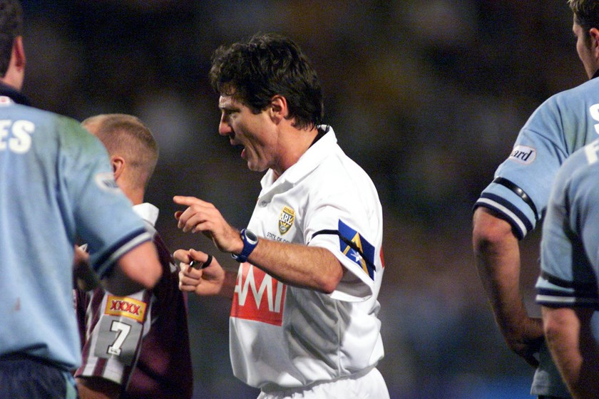 Bill Harrigan controlled proceedings in the Origin arena over many years.