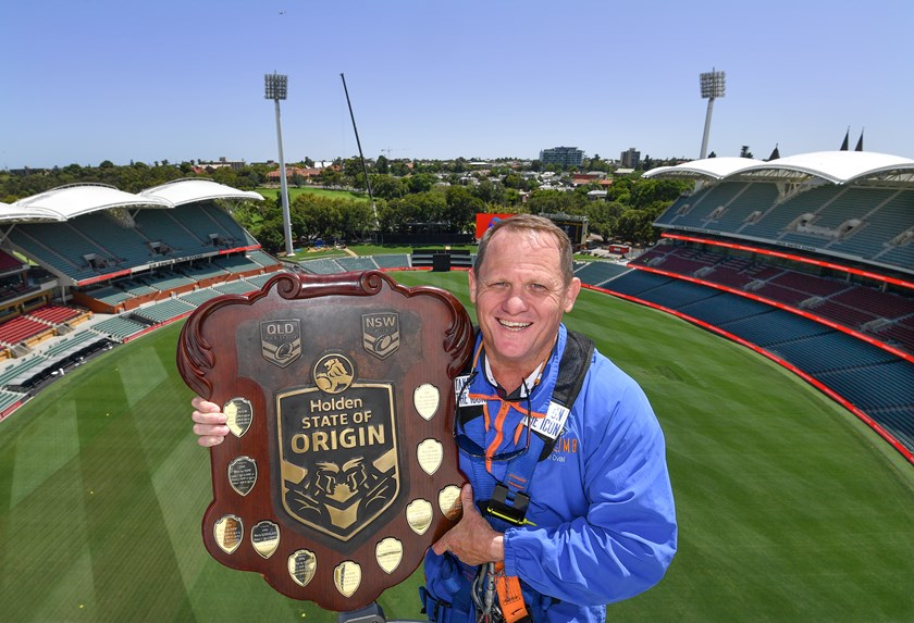 Queensland coach Kevin Walters at Adelaide Oval.