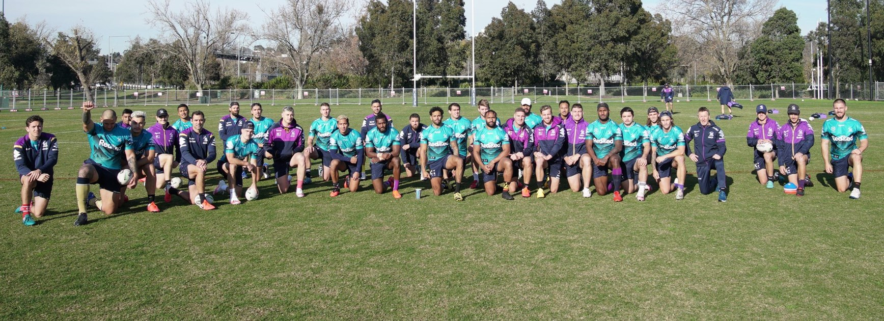 Addo-Carr inspires Storm to take a knee for Black Lives Matter movement