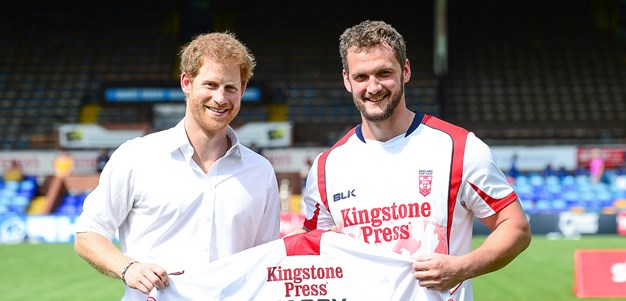 Prince Harry to conduct Rugby League World Cup draw