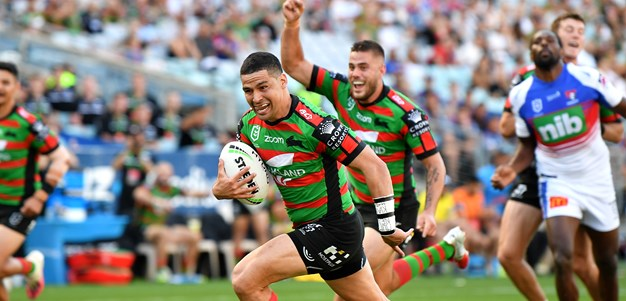 Walker runs rings around Knights as Rabbitohs advance