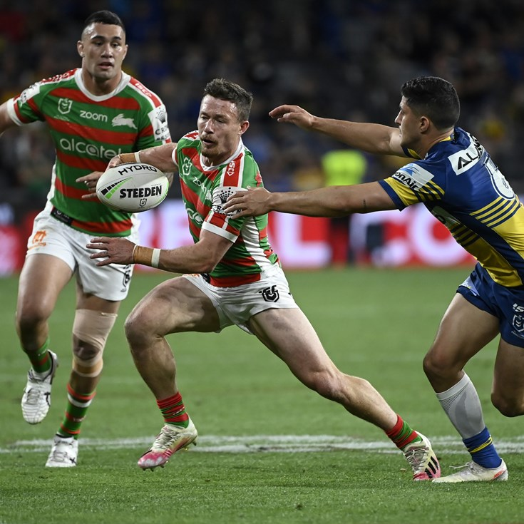 Rabbitohs produce stunning second half to send Eels packing