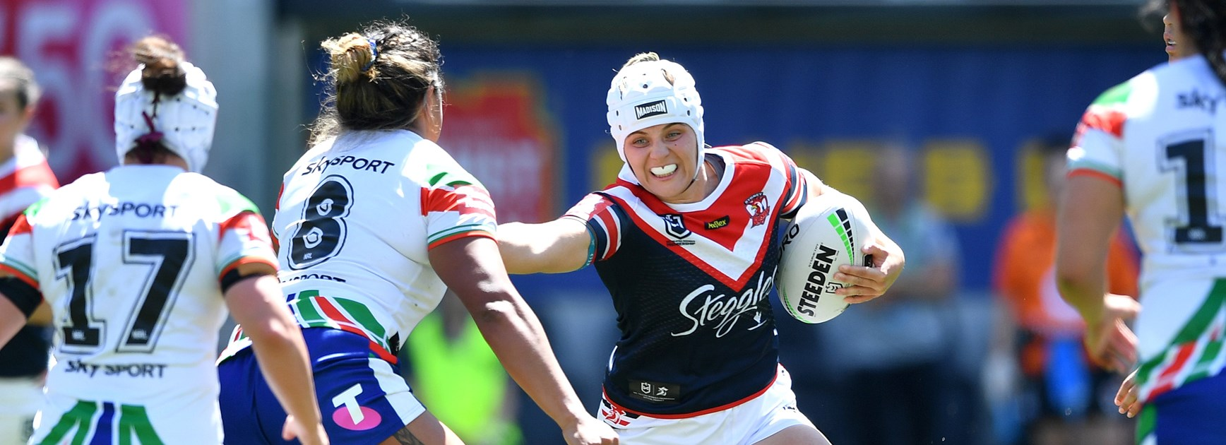 Roosters lock Hannah Southwell.