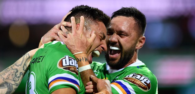 Canberra Raiders 2021 draw snapshot