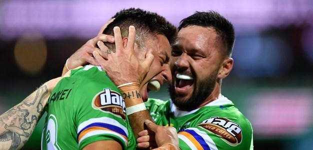 Canberra Raiders 2021 draw snapshot