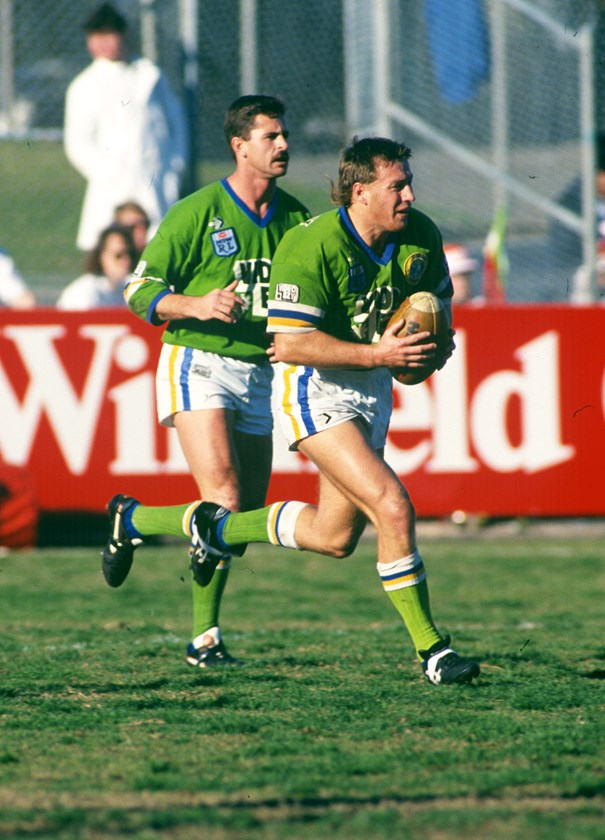 Craig Bellamy played 149 games for Canberra and scored 46 tries.