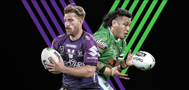 Storm v Raiders: Finucane likely; Canberra unscathed