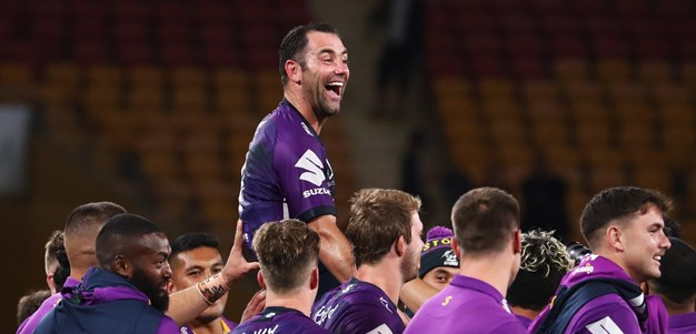 Storm blow Raiders away to book Grand Final spot