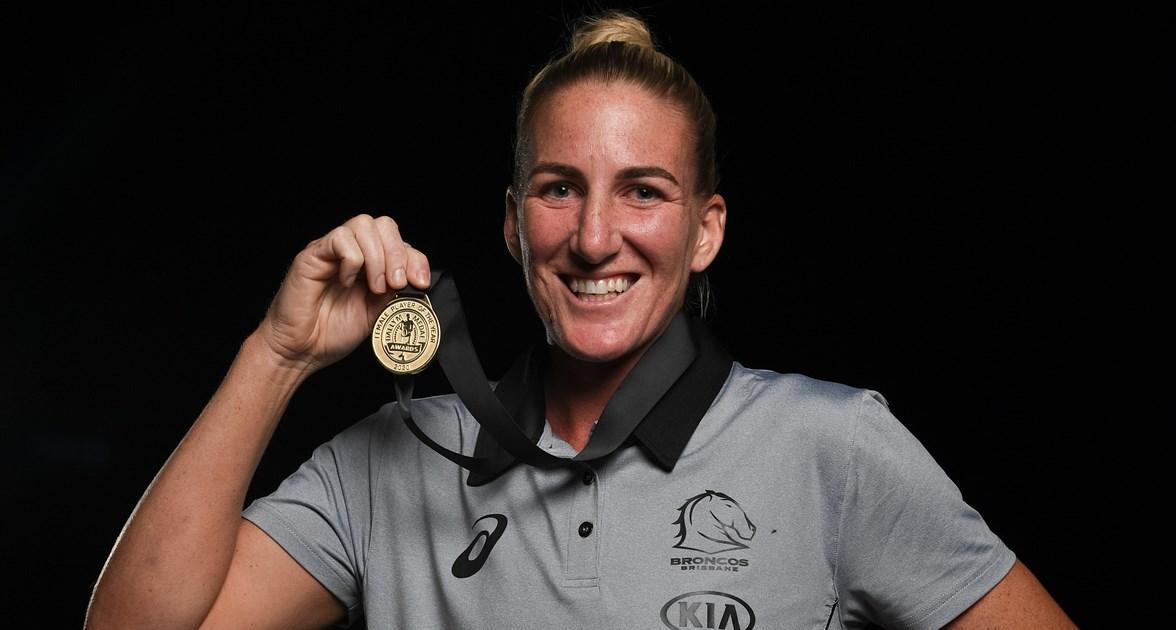 2020 NRLW Dally M Medallist: Ali Brigginshaw