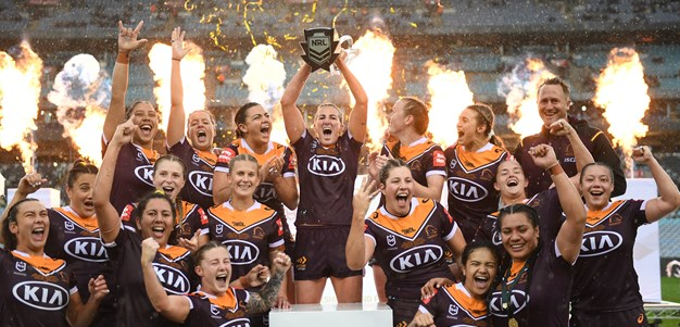 NRLW Broncos Make It Three Straight Premierships