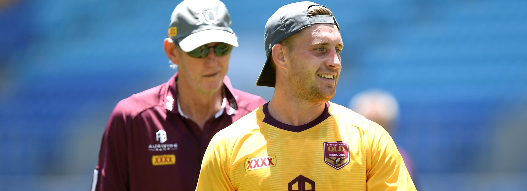 Maroons five-eighth Cameron Munster.