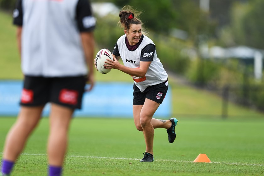 Jess Elliston will line up for Queensland against NSW.