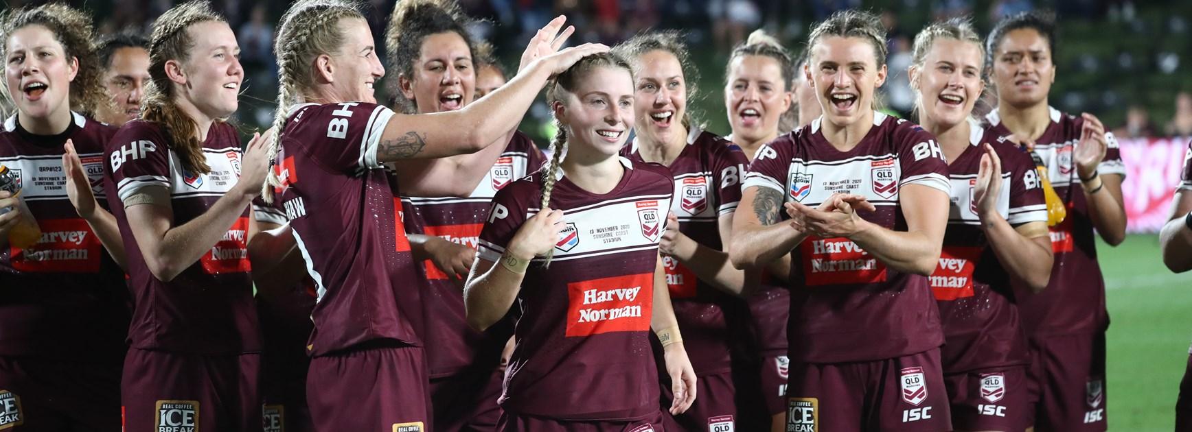 Maroons dominate Team of Women's Origin