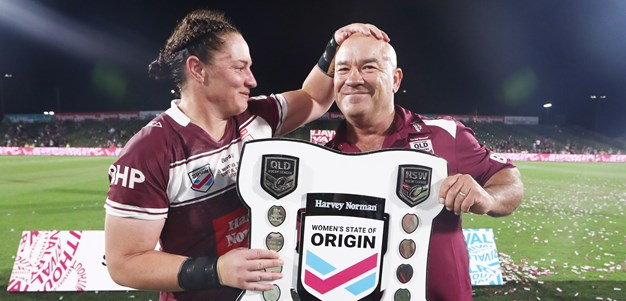 Maroons bridge gap to put three-game series back on agenda