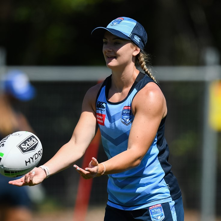 From trying out at talent ID camp to Origin