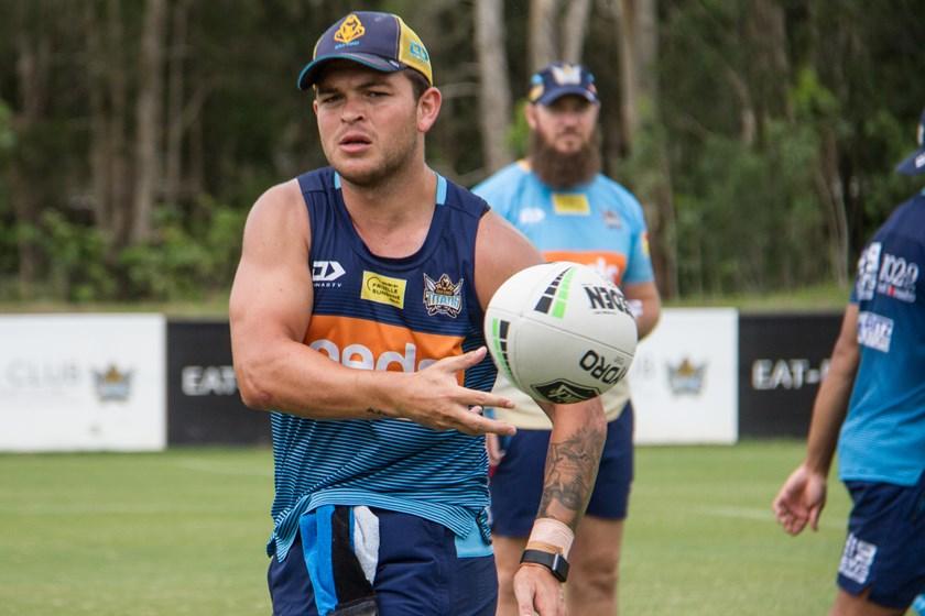 Gold Coast halfback Ash Taylor.