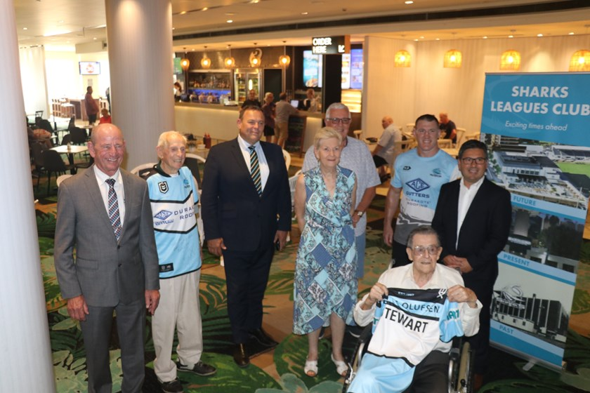 Jack Stewart at Sharks Leagues Club prior to the start of refurbishments.